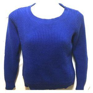 Joe Freash royal blue sweater L/XL